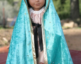 """Our Lady of Guadalupe Outfit, 18"""" Catholic Doll Clothes"""