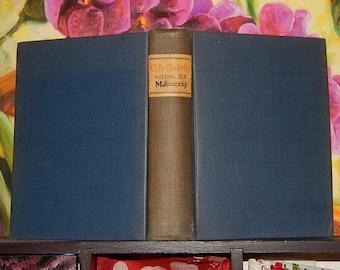 "1913 The Bibelot Volume XIX Mdccccxiij 4 1/2"" x 6"" Hardcover Book Richard Le Gallienne"