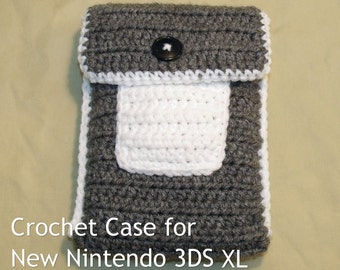 Crochet Case for New Nintendo 3DS XL Pattern PDF Download