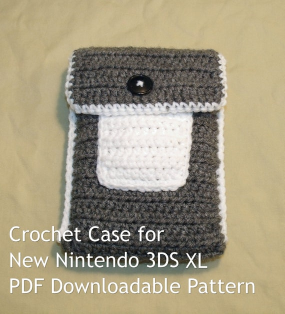 Xl Crochet Patterns : Crochet Case for New Nintendo 3DS XL Pattern PDF Download by Smurgles ...