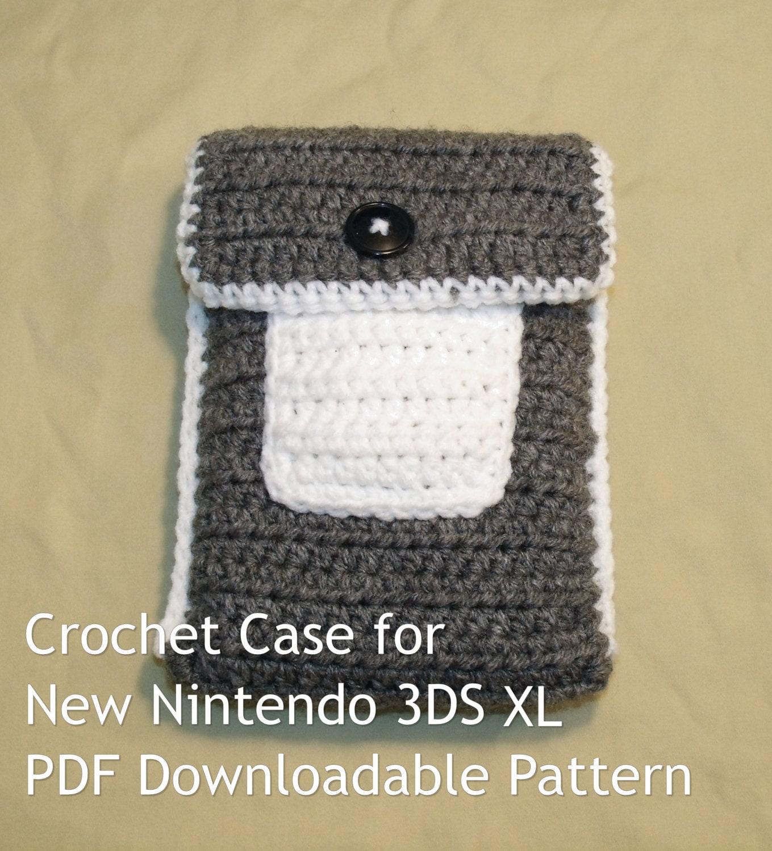 Crochet Case For New Nintendo 3ds Xl Pattern Pdf Download ��zoom