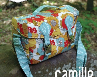 Swoon Patterns: Camille Camera Bag - PDF Bag DSLR SLR Camera Handbag Sewing Pattern