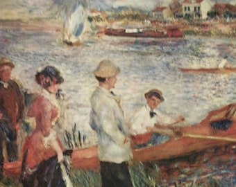 Auguste Renoir Print....No. 1062  OARSMAN at CHATOU  (1879 )