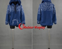 Rise Of The Guardians Jack Frost Hoodie Printing Jacket Costume Cosplay Hooded  - Custom made in any size