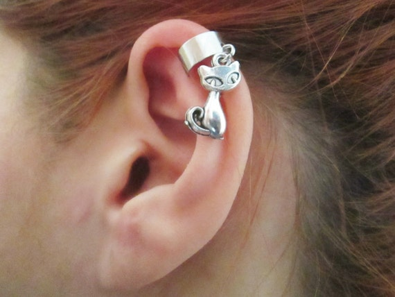 Unique Little Cat Ear Cuff Wrap No Piercing Required