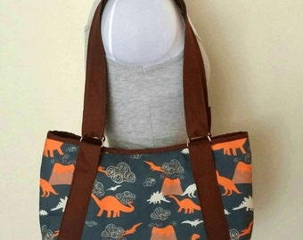 Dinosaur Hobo Purse