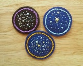 Starry Space (Patch, Pin, Brooch, or Magnet)