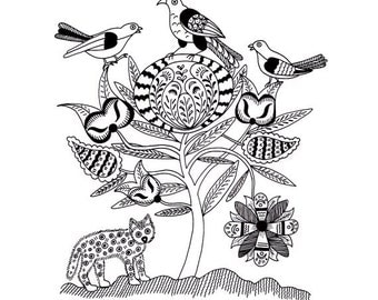 pennsylvania dutch hex sign coloring pages - photo #13