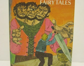 1968 Norwegian Fairy Tales by Gert Strindberg Hardcover with Dust Jacket