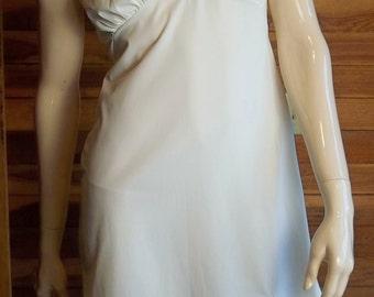 Vintage Lingerie VAN RAALTE Full Slip Ivory Size 13 AVG Nylon