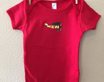 Airplane Baby One-piece
