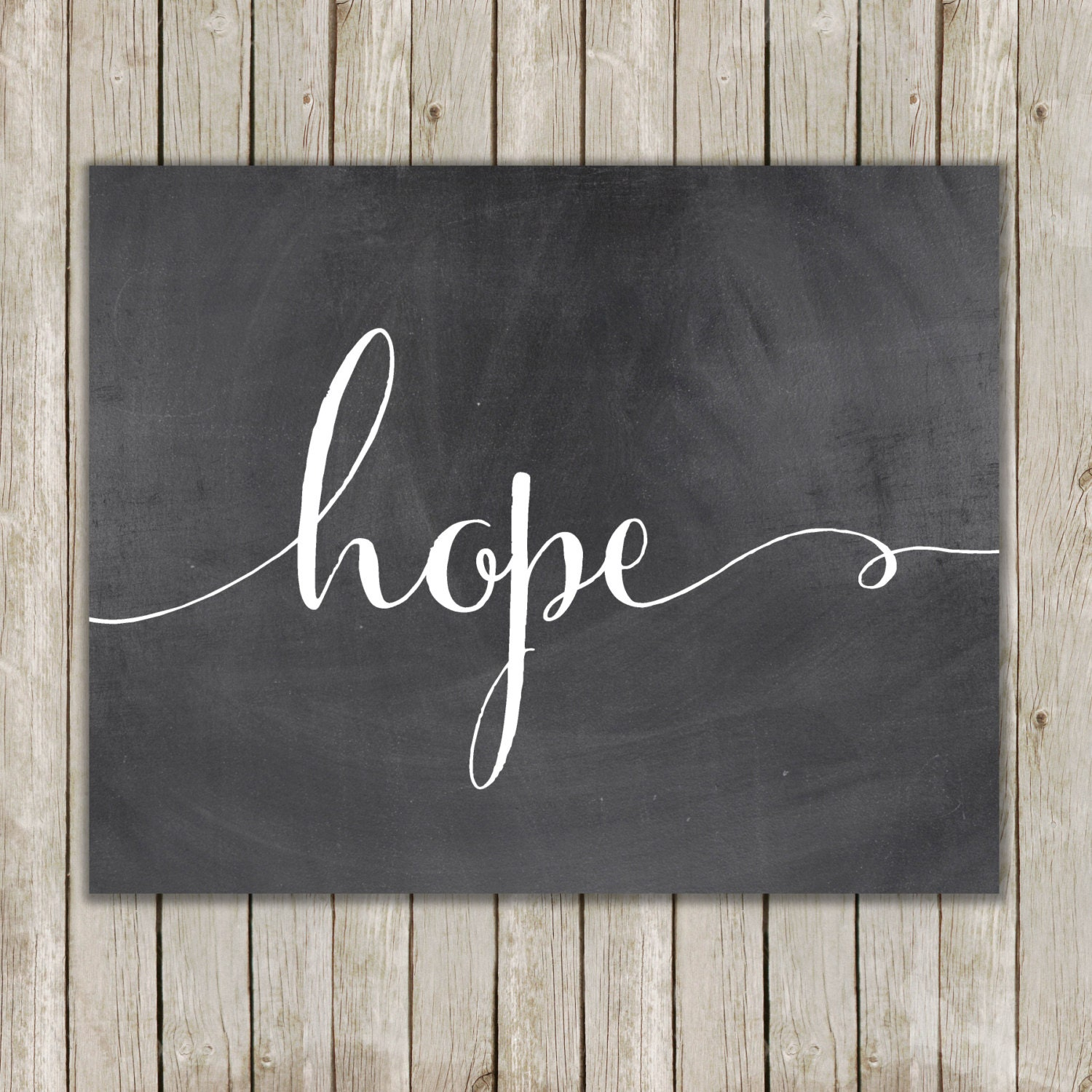 8x10 hope printable art hope calligraphy print typography zoom amipublicfo Image collections