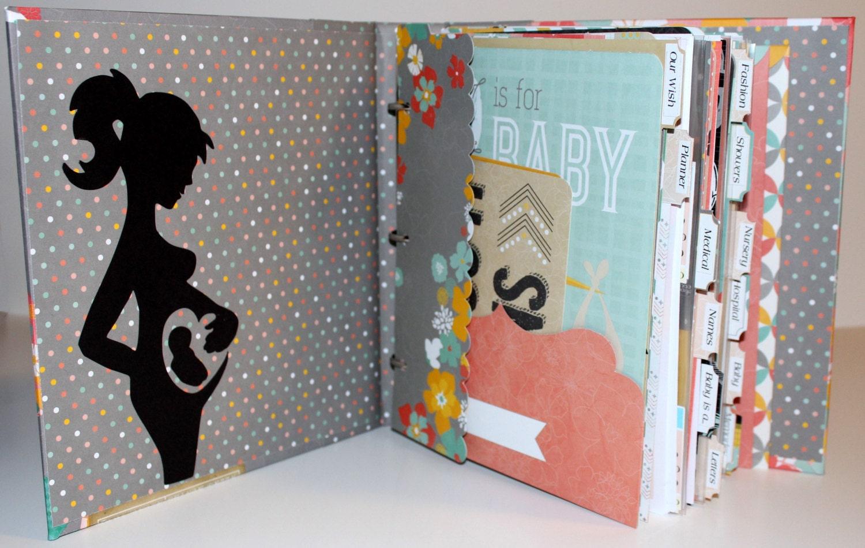 How to scrapbook baby book -  Zoom