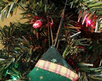 Christmas Tree Fabric Ornaments