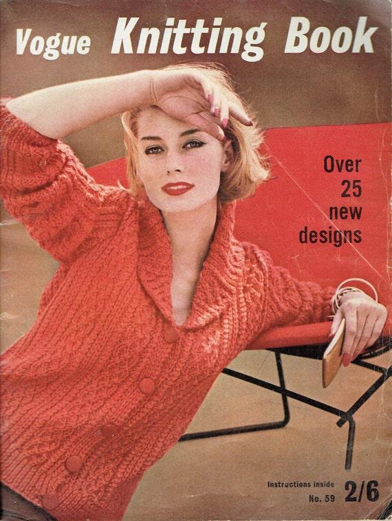 People Knitting Book : Vogue knitting book autumn