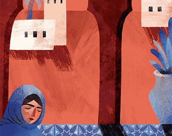 Morocco // A4 art print