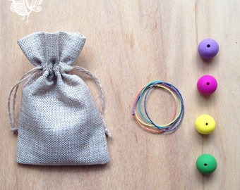 Kids make your own necklace kit - Easter Gift