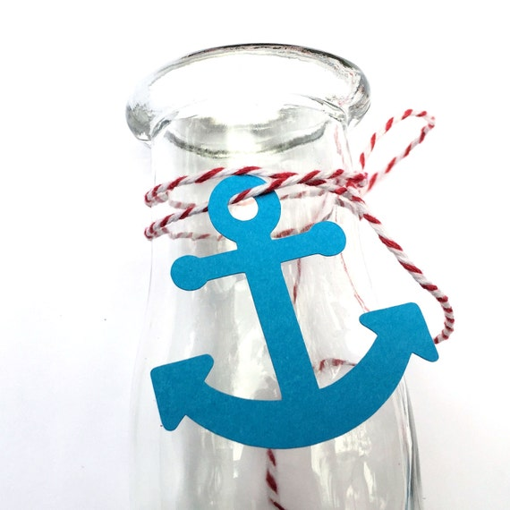 Etsy Australia Baby Gifts : Items similar to mini anchor favor tags gift die