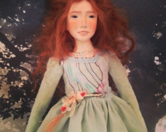 Lea art doll