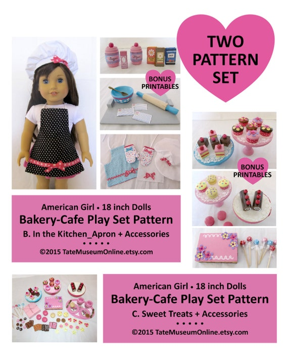 american girl our generation 18 doll bakery. Black Bedroom Furniture Sets. Home Design Ideas