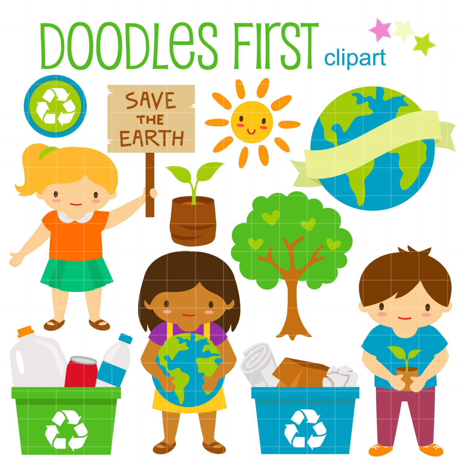clipart save the earth - photo #16
