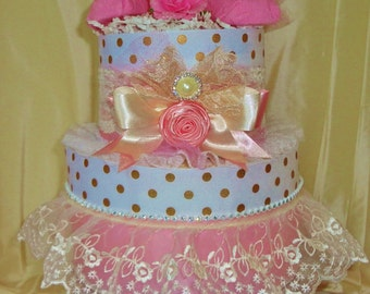 Sweet Angel  Diaper Cake