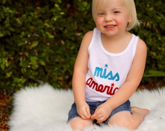 Miss America T-Shirt or Tank Top