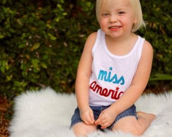Miss America T-Shirt or Tank Top