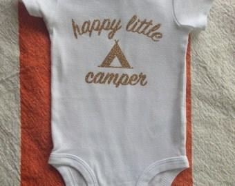Happy Little Camper Bodysuit