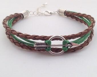 Robin Hood Bracelet - Arrow Bracelet - Bohemian Bracelet - Boho Bracelet - Tribal bracelet - native bracelet