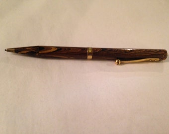 Vintage Waterman's wood ripple pattern Mechanical Pencil