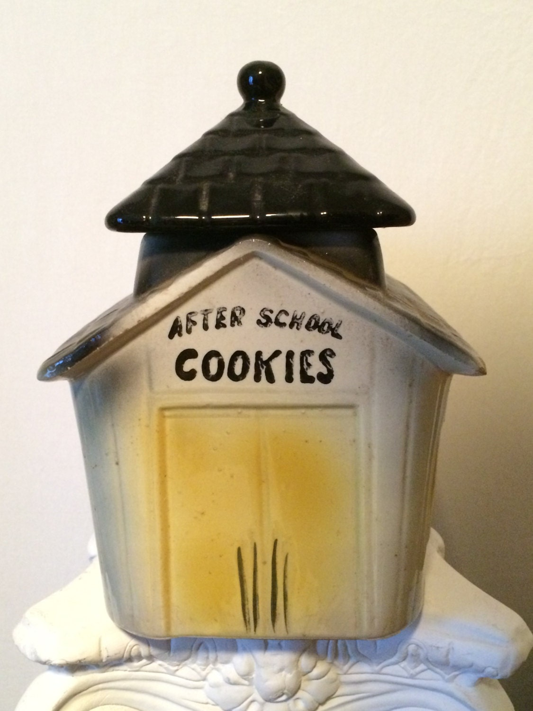 American Bisque Cookie Jar 741 After School by ...