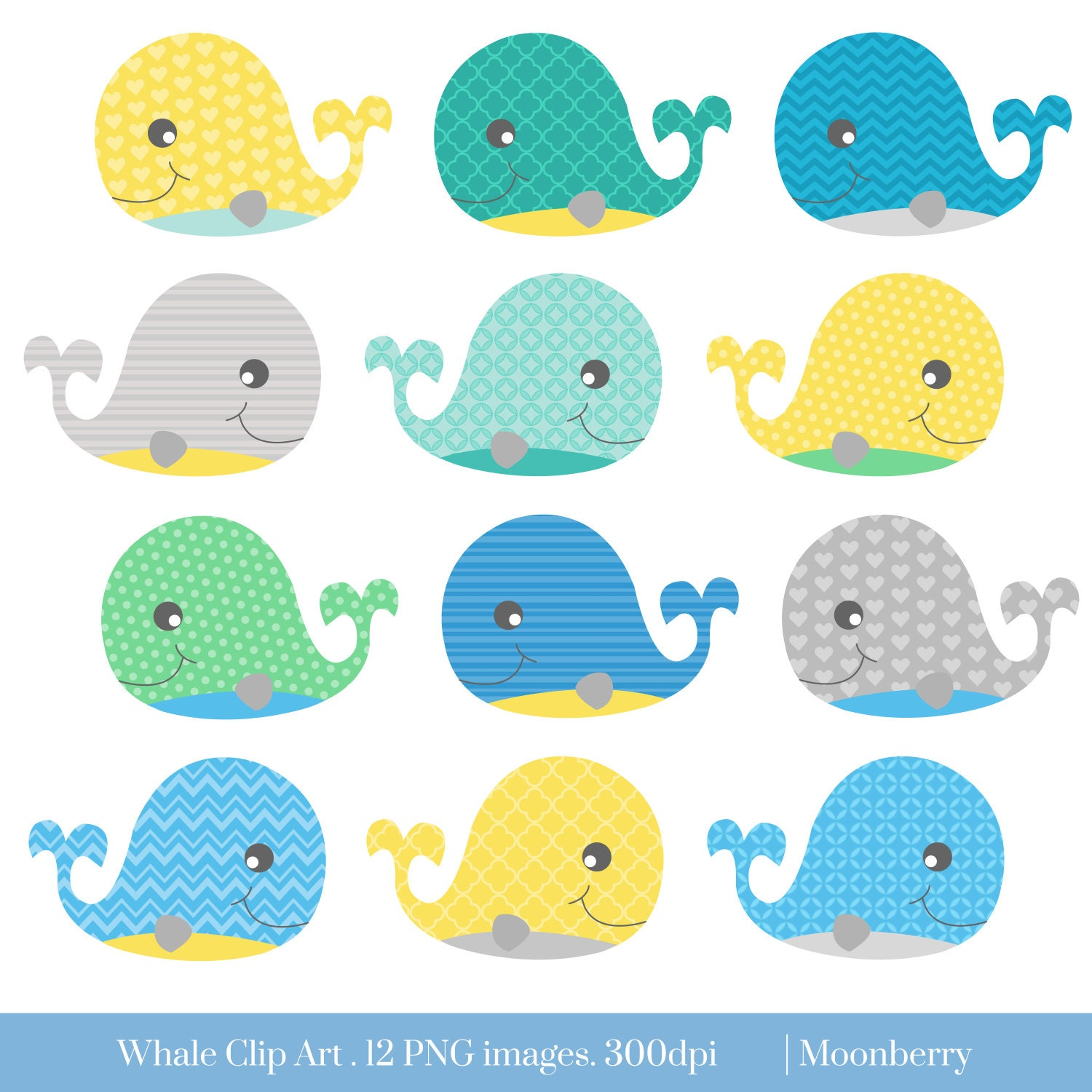 clipart baby shower whale - photo #7