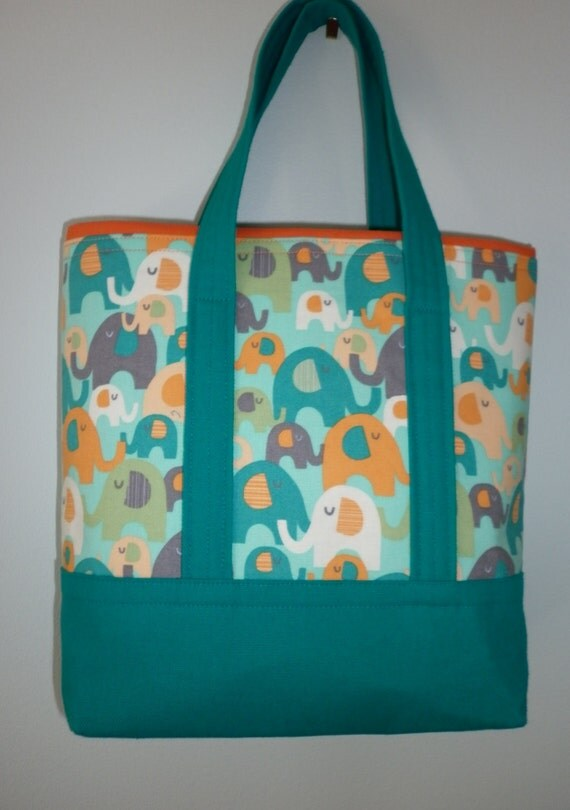 items similar to elephant tote bag childs