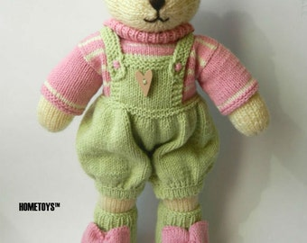 Kids|personalized|gift toy knitted bear stuffed|animal new|baby nursery|decor first|birthday gift|for|her baby|shower|gift for new|mom|gift