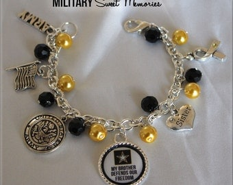 ARMY SISTER, My Brother Defends Our Freedom (Also Available for Sister)