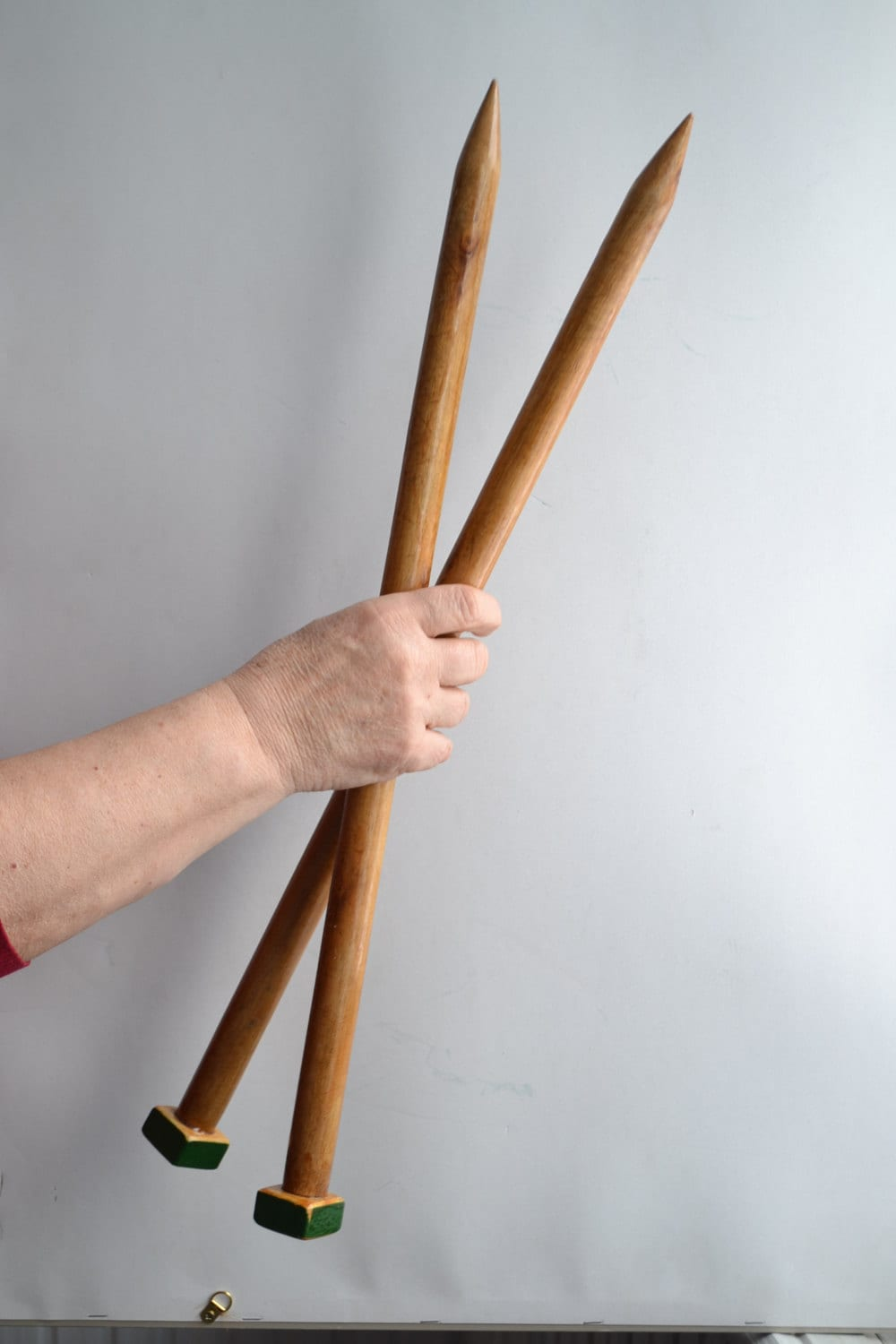 Knitting Needles Mm To Inches : Extreme knitting needles size mm inch cm