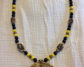 Naples Blue Lapis necklace