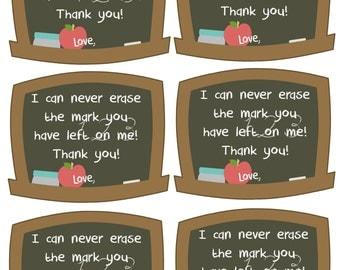 Items similar to Teacher Appreciation Gift Stickers ...