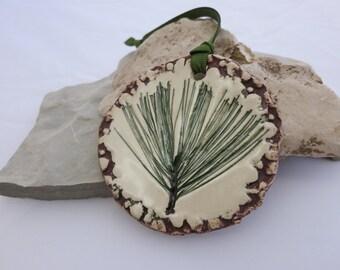 White Pine Ornament - Pine Scented