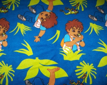 Diego Print Fleece Throw