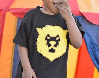 Boy's Circus Shirt with Lion and Embroidered Name