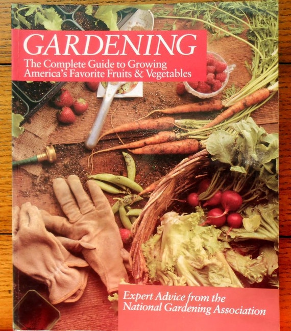 Items similar to gardening book guide to growing fruits for National gardening association