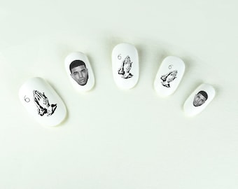 DRAKE Nail Decals If You're Reading This It's Too Late