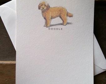 Doodle Dog Note Card Set