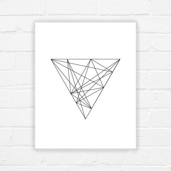 art g om trique imprimable art minimaliste par whereisalex sur etsy. Black Bedroom Furniture Sets. Home Design Ideas