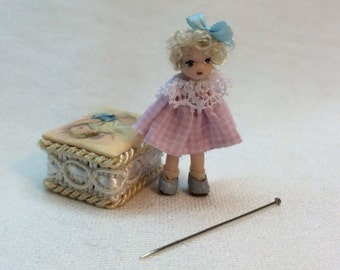 Handmade Blonde Little Doll
