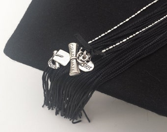 Graduation Charmed Necklace