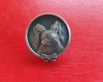 Soviet Wookie Dog Pin from Cold War Era (1970s USSR)