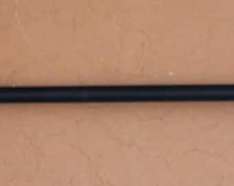Decorative Hanging Rod Hand-forged Perfect for Wall Hangings or Quilts